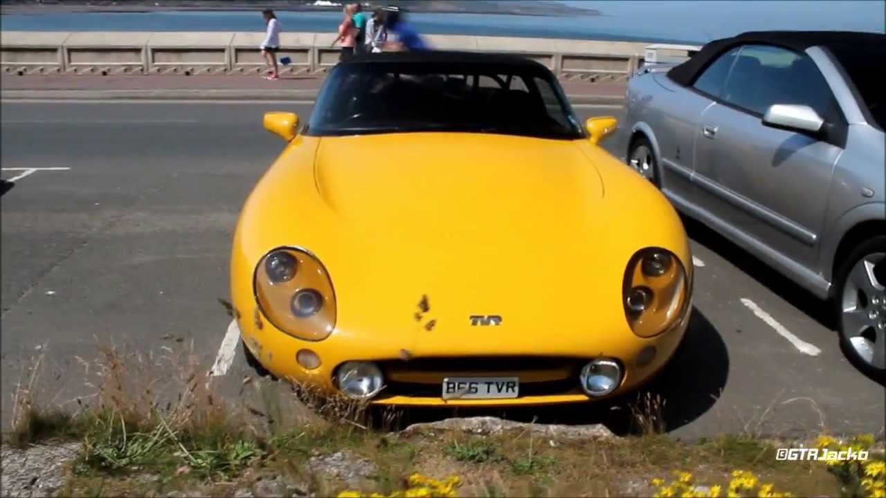 yellow tvr griffith 500 in scarborough walkaround youtube. Black Bedroom Furniture Sets. Home Design Ideas