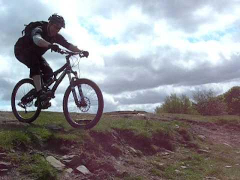 mountain bike skills drop off