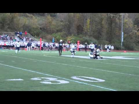 Nichols College football vs. Endicott 10-12-13