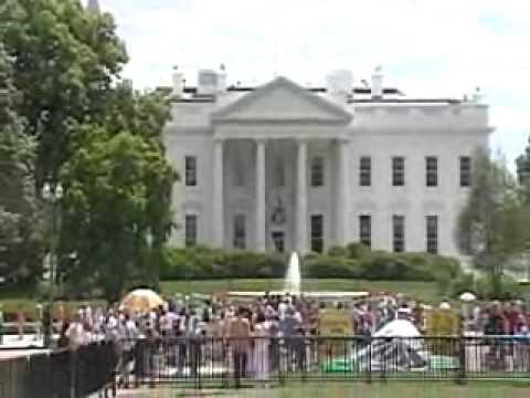 Outside Walking Tour of the White House