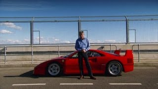SUPERCAR: FERRARI F40 - Fifth Gear