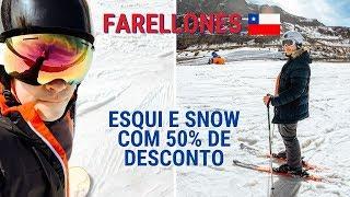 Esqui e snow com 50% de desconto