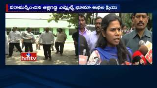 Bhuma Akhila Priya speaks to Media | Bhuma Nagi Reddy Health Condition and Arrest