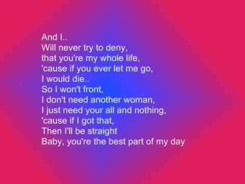 Chris Brown-With You Lyrics - YouTube
