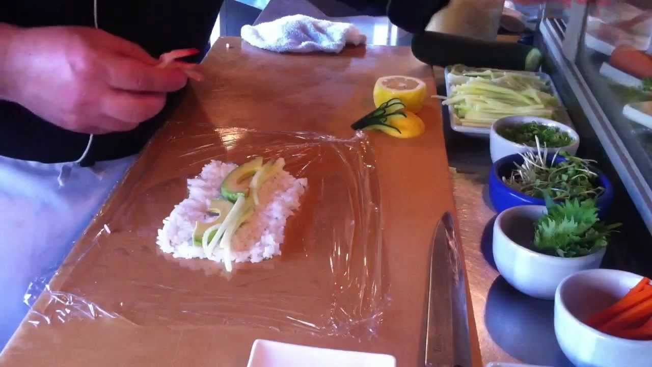 Mosaic Sushi Roll Evolution Food Recipe
