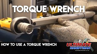 Torque wrench demonstration