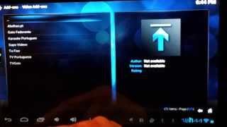 Instalar XBMC E Addon Tv's Portuguesas No Android
