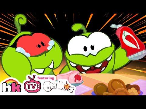 Om Nom Stories: THE PRANK WAR | Funny Cartoons for Children | HooplaKidz TV