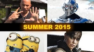 Summer Movies 2015 Fast 7, Avengers 2, Mad Max, Minions
