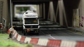 Modellbahn Knuffingen - Die Stadt der Automobile bzw. DC Car und Mini Cars im Miniatur Wunderland