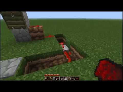 Minecraft Tutorial: Trap Door Inventions