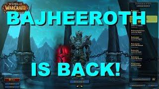 "Warlords Of Draenor ""BAJHEEROTH IS BACK BABY!"" Level"