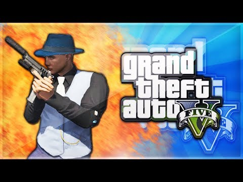 GTA 5 Online Funtage - LIKE A BOSS! (Swimming Pool Glitch & Skyfall Race)