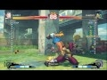 Uryo [Sakura] vs lsy9983 [Bison] SSF4 Japanese Online Ranked Matches - TRUE-HD