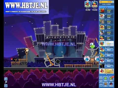 Angry Birds Friends Tournament Level 6 Week 69 (Tournament 6) Rock in Rio no power-ups