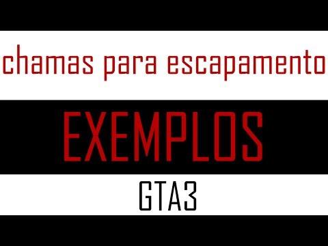 MOD GTA 3 - Escapamento de veículos pegando fogo