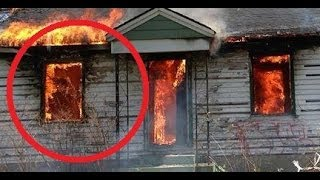 Fire Fighter Catches Ghost On Camera In Haunted Gary