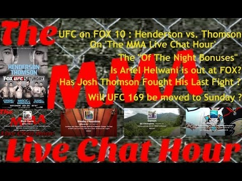 UFC on FOX 10 : Benson Henderson vs. Josh Thomson Post Event Discussion On 'The MMA Live Chat Hour'