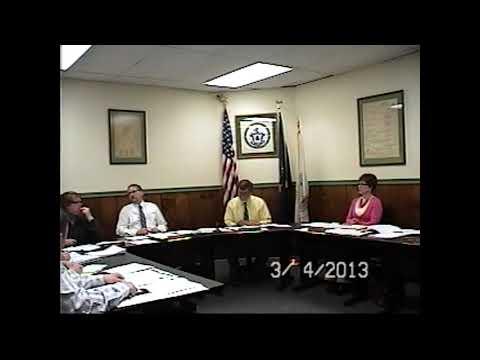 Champlain Village Board Meeting 3-4-13