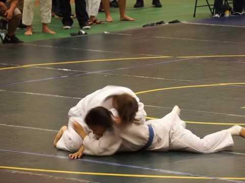 44 OIA Judo Girls 145 - Teniya Alo KAHU vs Nina Seone PC 4-29-17 | click2ED videos