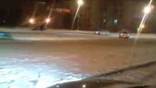 Snow Drifters Taunting Police