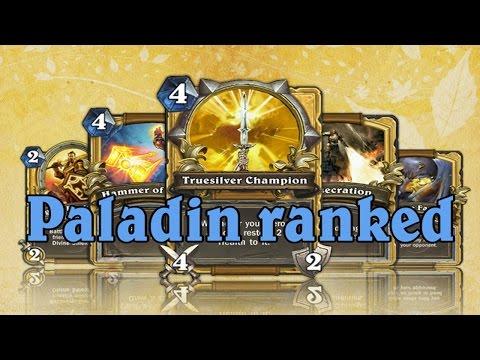 Hearthstone Ranked за Паладина