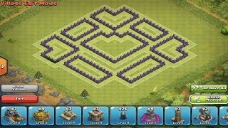 Clash Of Clans: Town Hall 8 ULTIMATE TROPHY HUNTING BASE