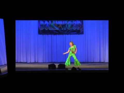 russian little girl dance indian song