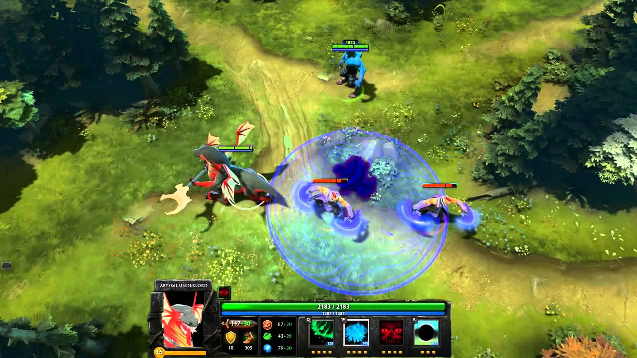 Dota 2 Abyssal Underlord Pit Lord - YouTube Dota 2 Abyssal Underlord