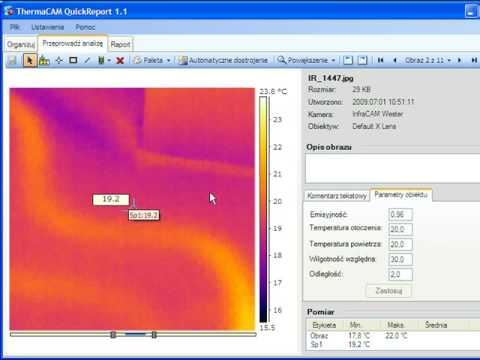 Badania termowizyjne ogrzewania podłogowego