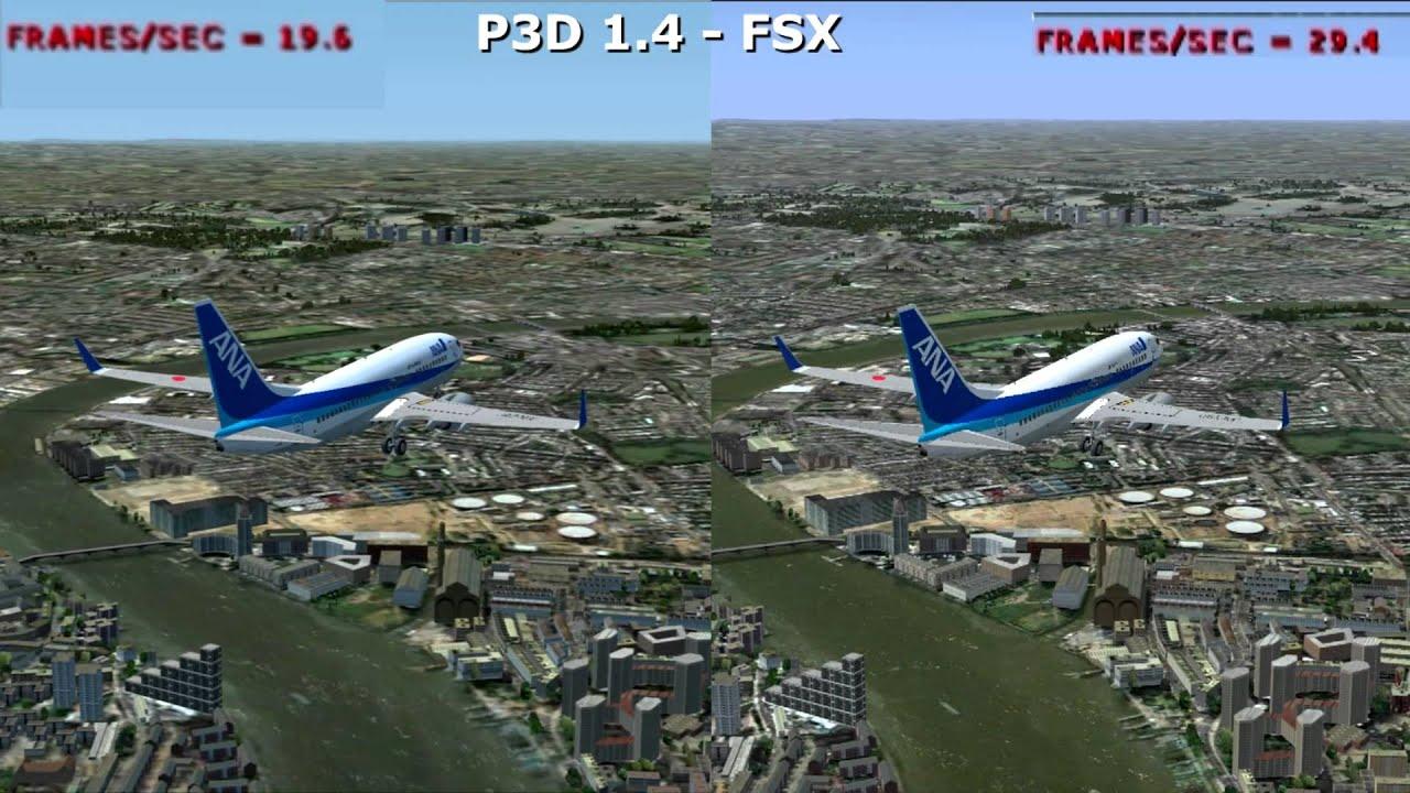 Flight Simulator X London Scenery Photo
