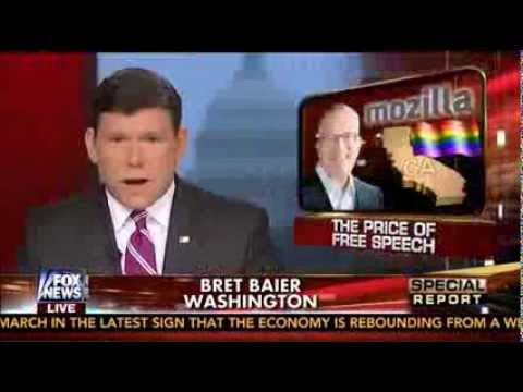 David Pakman on Fox News: Mozilla CEO Resigns After Anti-Gay Donation