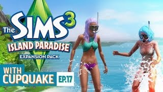 """""""MY BUTT IS ON FIRE"""" Sims 3 Island Paradise Ep 17"""