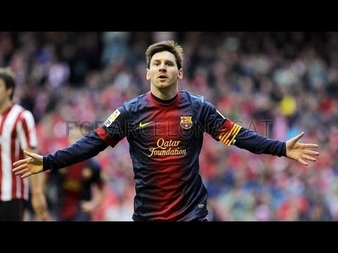 Athletic Bilbao vs Barcelona  (2-2) All Goals & Highlights 27.04.2013