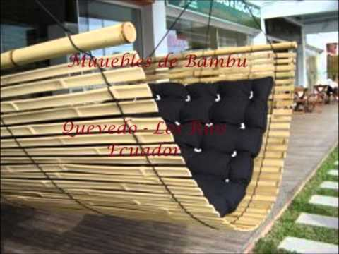 Muebles de bambu victoria youtube for Muebles de cana de bambu