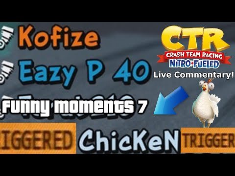 Crash Team Racing Nitro Fueled: Live Commentary Funny Moments #7 (69)