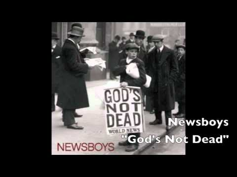 "NEW! Newsboys ""God's Not Dead (Like a Lion)"" Single!"