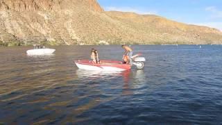 Redneck Boat Motor