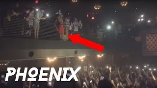 XXXTentacion - Live performance (Phoenix - THE REVENGE TOUR 6/4 ) X JUMPS FROM SECOND STORY