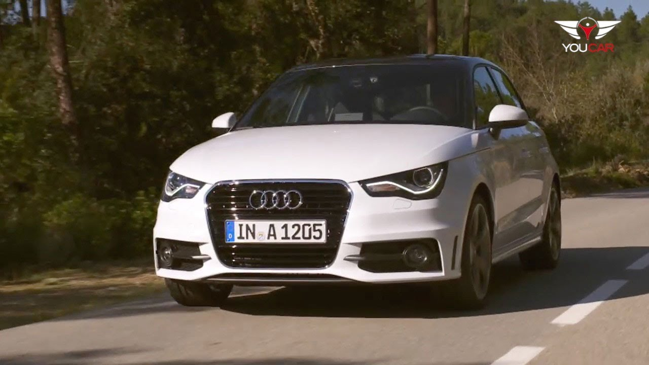 2012 audi a1 sportback on the road youtube. Black Bedroom Furniture Sets. Home Design Ideas