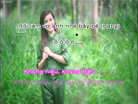 Làm Người Yêu Anh Nhé BaBy [karaoke]