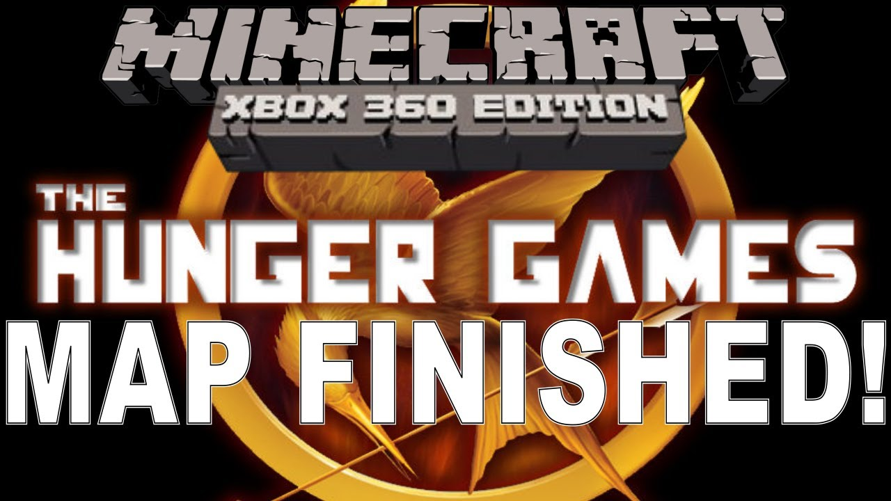 Xbox 360 Hunger Games : Minecraft xbox the hunger games map is finished