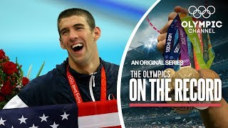 Michael Phelps' Record Breaking Eight Gold Medals in Beijing   The Olympics on the Record