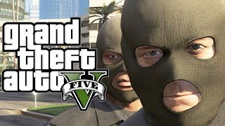 GTA 5 How To ROB A BANK (Funny Moments Gameplay In GTA V