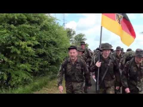 M.Juškauskas žygyje su Bundeswehr susitarė dėl ženklų atsiėmimo Lietuvai.
