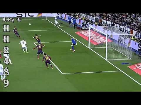 2º GOL Karim BENZEMA [2-1] | Real Madrid vs Barcelona 3-3 ~ Real Madrid 3-3 Barcelona ~ 23-03-2014