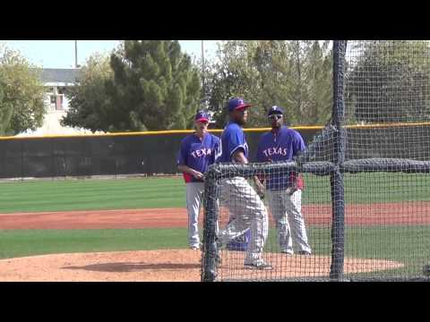 Live BP video  of the Rangers Neftali Feliz