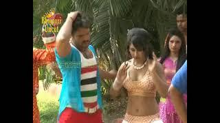 Hot Song Shoot Of Bhojpuri Film 'Jaaneman' Khesari Lal And
