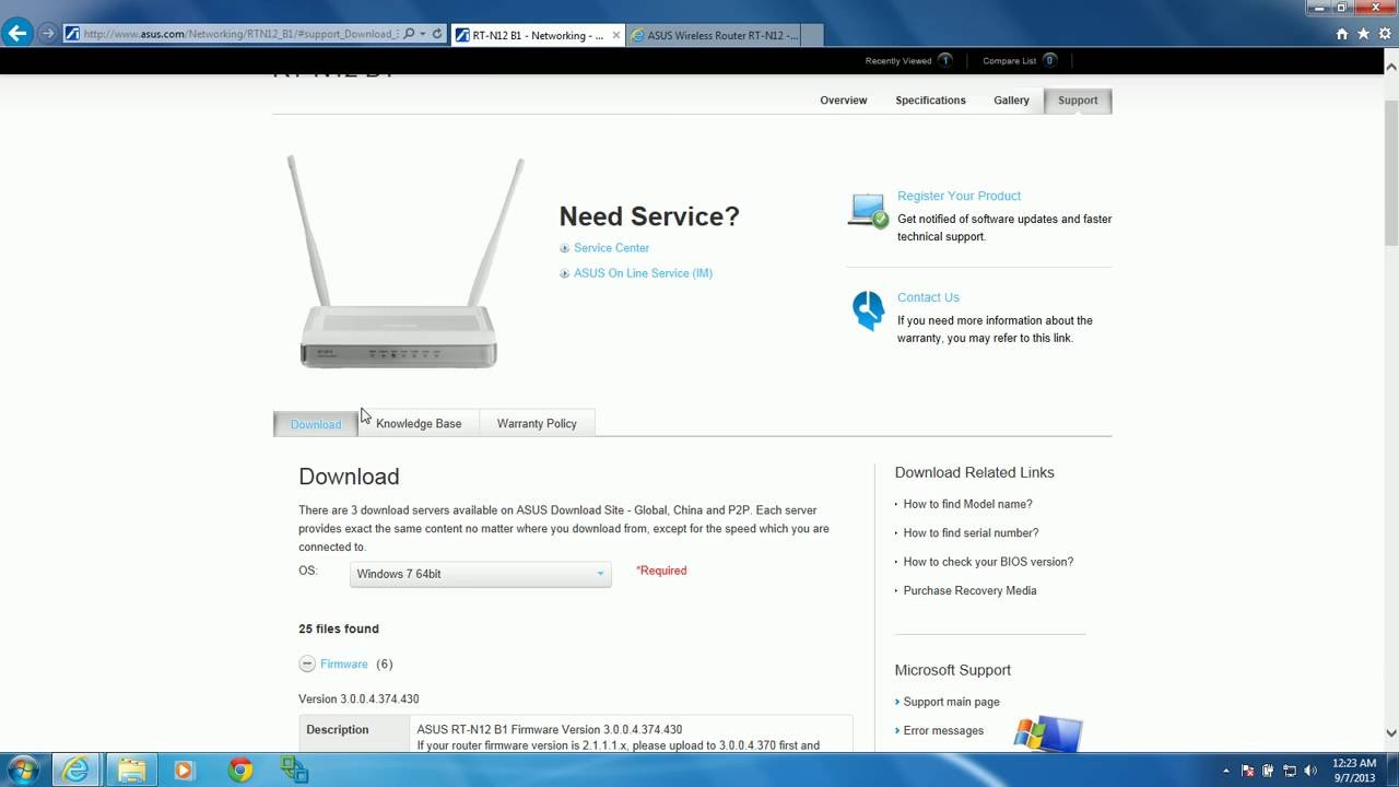 How to Update Wireless Router Firmware! (ASUS RT-N12 B1 ...