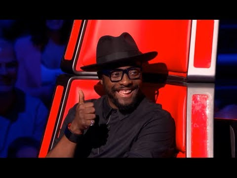 Ricky Wilson is doing his winning cartwheel on The Voice UK